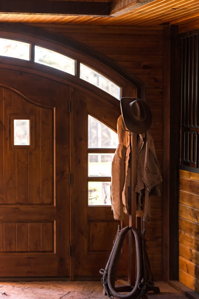 Stable entry interior image