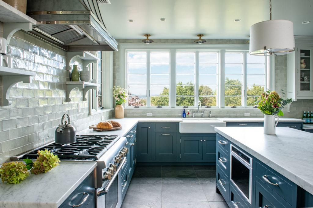Architectural interior image of custom kitchen